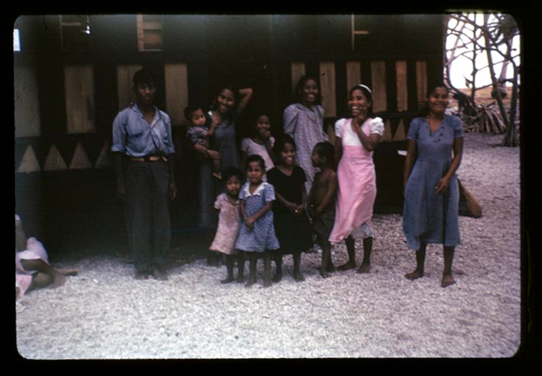 Rongerik, 2-6-1948, Photo by Leonard Mason, Robert C. Kiste Collection, UHawaii, Manoa