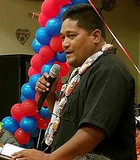Bikini Atoll Mayor Anderson Jibas