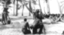 Commodore Wyatt and Juda exchange at Bikini Atoll in 1946