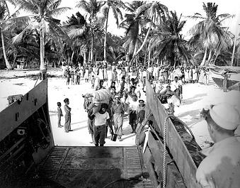 Bikini Atoll evacuation in 1946