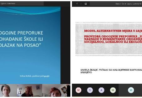 CPRC online edukacija: Odgojna preporuka''Redovno pohađanje škole ili redovan odlazak na posao''