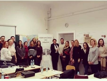 Edukacija u Francuskoj školi CIFS: Već se vide rezultati u stalnoj saradnji različitih centara