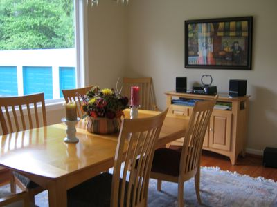 Formal dining room upstairs