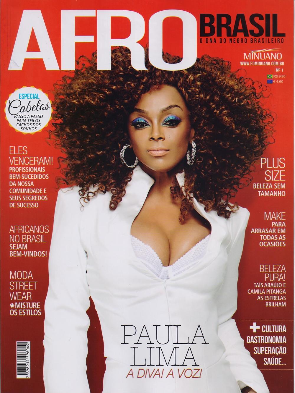 Capa da Revista Afro Brasil - 1ª Edição (Jun/16)