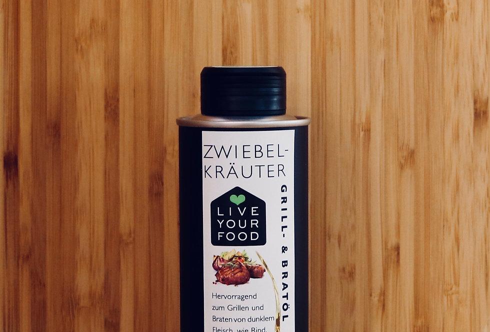 Zwiebel-Kräuter - Grill- und Bratöl