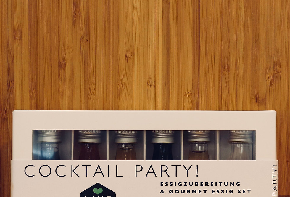 Essig & Öl Set Cocktail Party