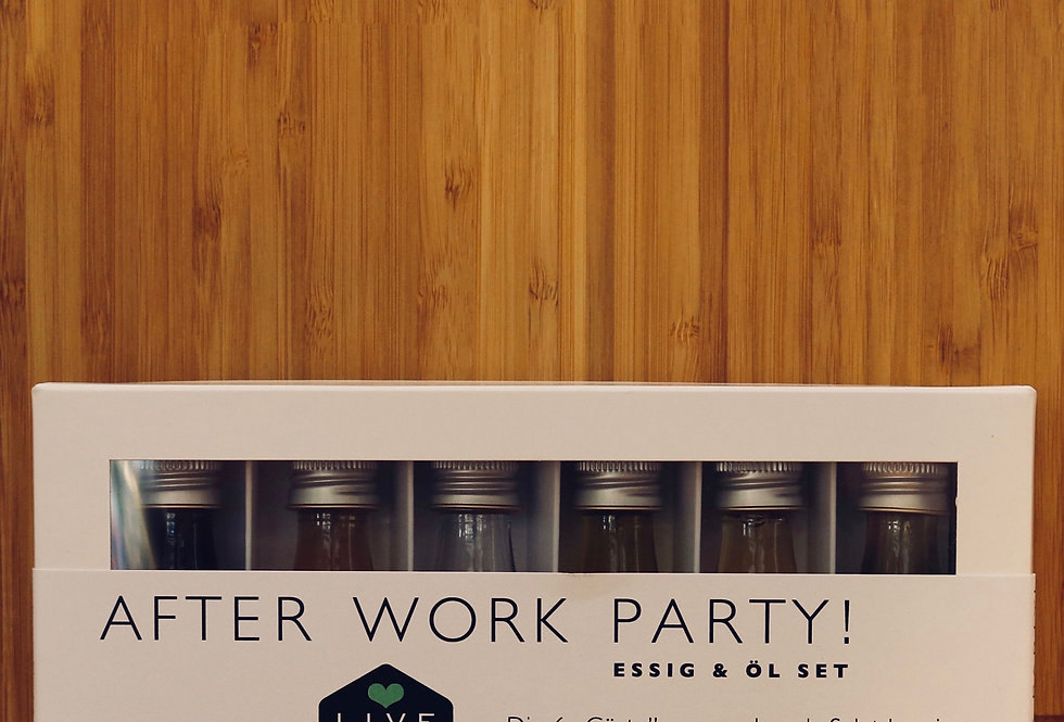 Essig & Öl Set After Work Party