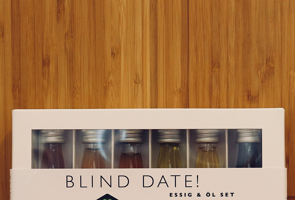 Essig & Öl Set Blind Date
