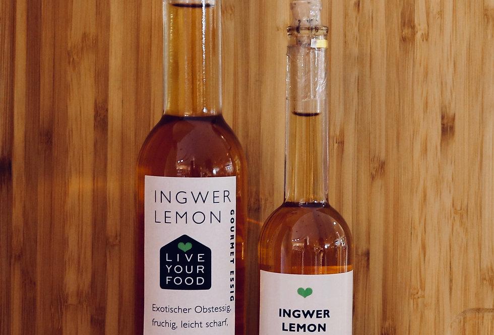 Ingwer Lemon Essig 5% Säure