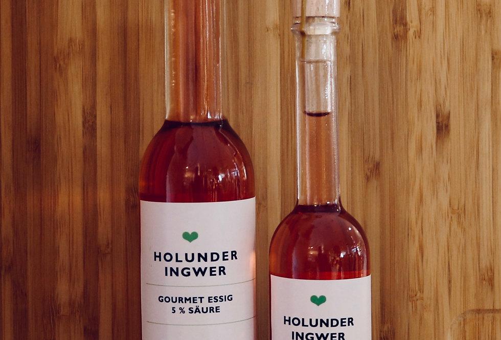 Holunder-Ingwer Essig 5 % Säure