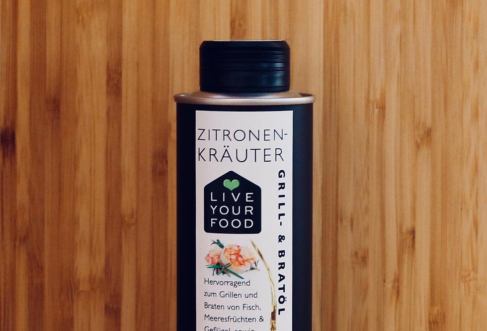 Zitronen-Kräuter - Grill- und Bratöl