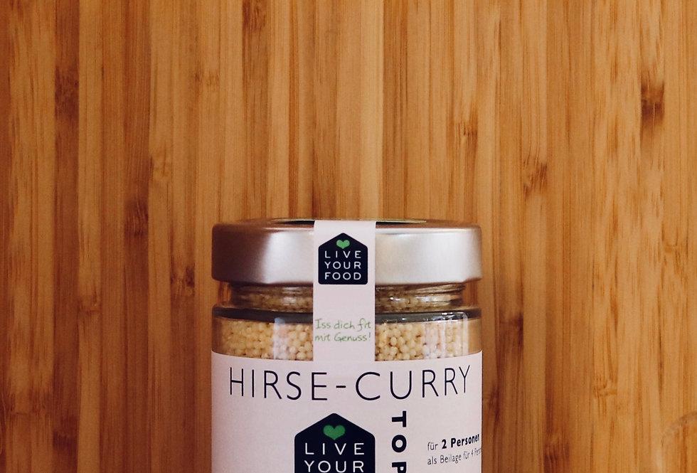 Hirse - Curry Topf