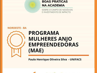Sócios Startei são premiados por projeto que estimula  empreendedorismo social feminino