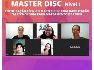 Consultora Startei, Patricia Pastori, integrou a Turma 67 do Master Disc Nível 1