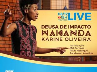 Live Deusa de Impacto traz os bastidores da participação de Karine Oliveira no programa Shark Tank