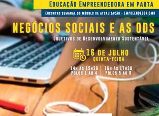 Startei capacita professores no evento Sebrae: Negócios Sociais e as ODS