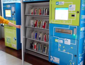 Kiosque Libre service RFID