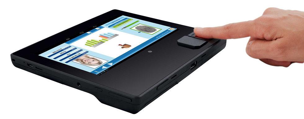 Lecteur portable MorphoTablet