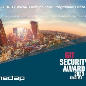 Nedap ouvre la voie en matière de normalisation mondiale en tant que finaliste du GIT Security Award