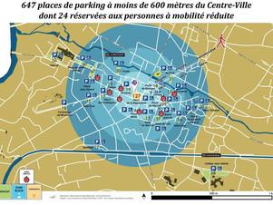 Dans le Cher, une commune installe des capteurs pour traquer le stationnement trop long
