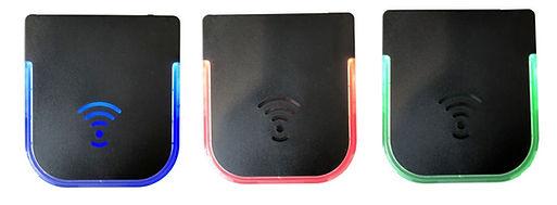 Platines RFID illuminées