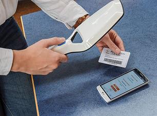 carte adhérent et lecteur RFID