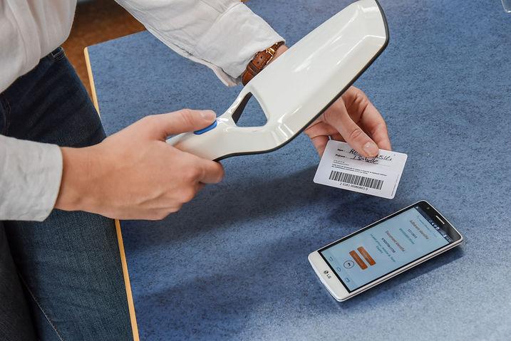 Carte adhérent HF et UHF RFID