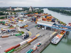 Les plots de stationnement SENSIT déployés au port autonome de Strasbourg