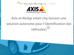 Axis et Nedap smart city lancent une solution autonome pour l'identification des véhicules!