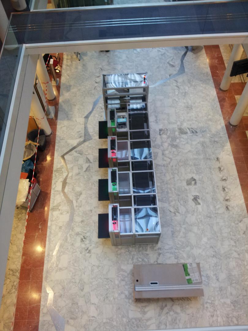 Robot de tri intérieur RFID
