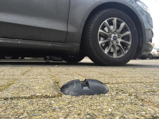 Parking des mureaux équipé en double technologie Nedap