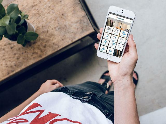 IDCloud sur smartphone