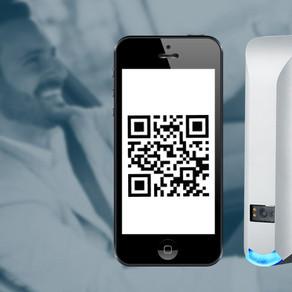 Accès temporaire des visiteurs basé sur lecture d'un QR Code, avec le lecteur NVITE