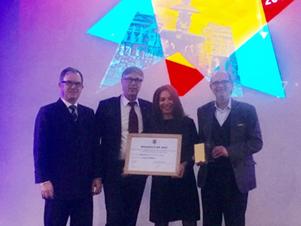 Nedap remporte la brique d'or de l'innovation «Produit» avec l'!D top