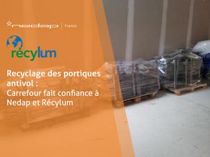 Recyclage des portiques antivol : Carrefour fait confiance à Nedap et Récylum