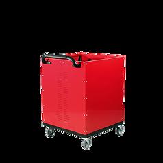 Chariot à fond constant rouge