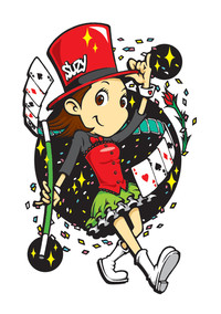Magic girl Suzy