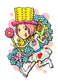 Balloon girl Suzy