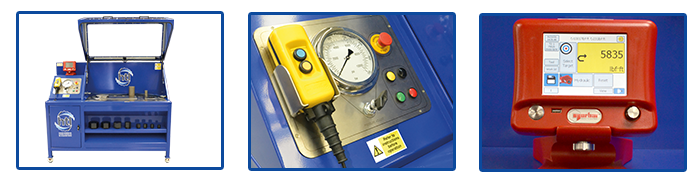 HTL Torque Calibration rigs multiple