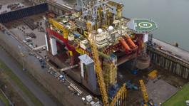 Damen Verolme Rotterdam Completes Refit of Drilling Rig 'Stena Don'