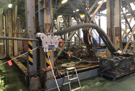 GasOil Delivers SP Wireless Running  Line Dynamometer to Taiwan Cable  Laying Project