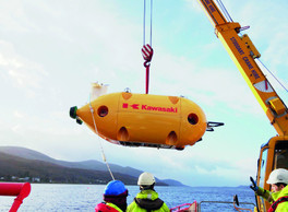 THE UNDERWATER CENTRE PROVIDES IDEAL KAWASAKI AUV TESTING SITE