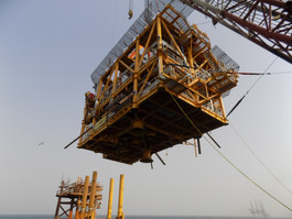 Aquaterra Sea Swift platform installed and operating in Egypt for PICO Petroleum Integrated Services