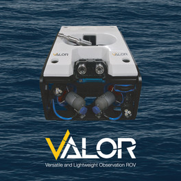 REACHING BEYOND ITS CLASS - SEATRONICS INTRODUCES VALOR ROV