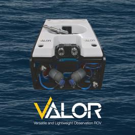 REACHING BEYOND ITS CLASS - SEATRONICS INTRODUCES VALOR ROV