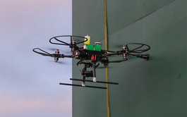 Texo Drone Survey and Inspection deploys world's first UT integrated UAV system