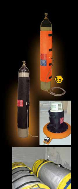 LMK THERMOSAFE PROVIDE PERFECT SOLUTION FOR SAFELY HEATING GAS CYLINDERS