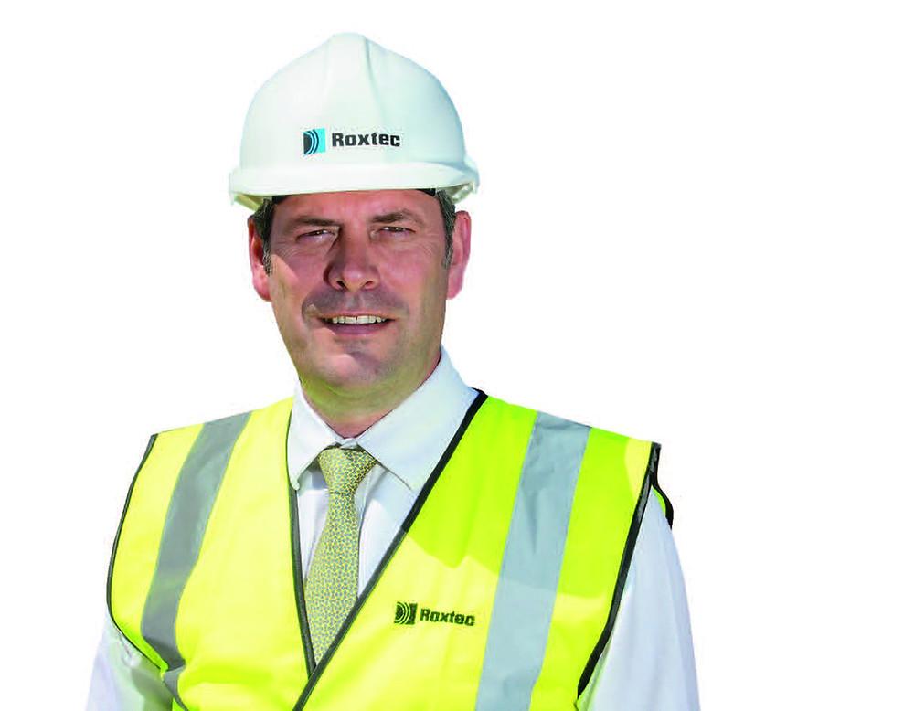Roxtec UK Managing Director Clive Sharp.