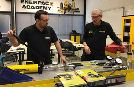 ENERPAC ACCREDITED FIRST ECITB TRAINING PROVIDER FOR MECHANICAL JOINT INTEGRITY IN MAINLAND EUROPE