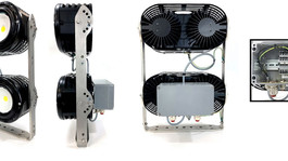 New Robust, Maintenance-Free LED Floodlights From Glamox Offer High Light Output & Long Lifetime